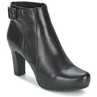 Sapatos Mulher Botas baixas Unisa NAPUR Preto