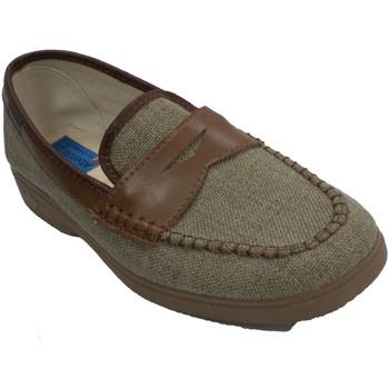 Sapatos Homem Chinelos Made In Spain 1940 Sapato homem simulando sapato Alberola e beige