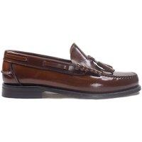 Sapatos Homem Mocassins La Valenciana Zapatos  3270 Cuero Castanho