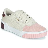 Sapatos Mulher Sapatilhas Puma CALI REMIX Branco / Rosa