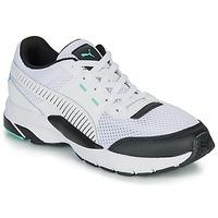 Sapatos Sapatilhas Puma FUTURE RUNNER PREMIUM Branco / Preto