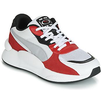 Sapatos Criança Sapatilhas Puma RS-98 SPACE JUNIOR Branco / Vermelho