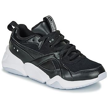 Sapatos Mulher Sapatilhas Puma NOVA 2. W Preto