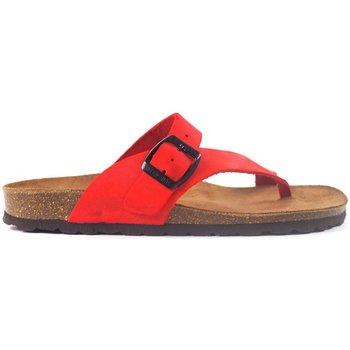 Sapatos Sandálias Interbios Sandalias  7119 Rojo rouge