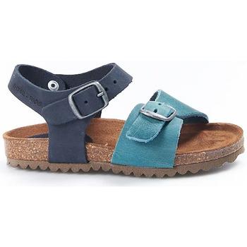 Sapatos Criança Sandálias Interbios Sandalias  Niño 7148 Jeans-Marino Azul