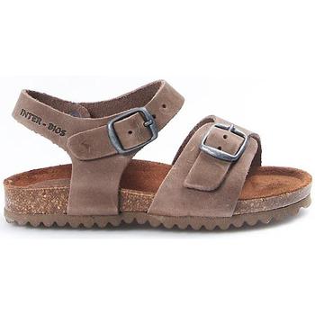 Sapatos Criança Sandálias Interbios Sandalias  Niño 7148 Pardo Castanho