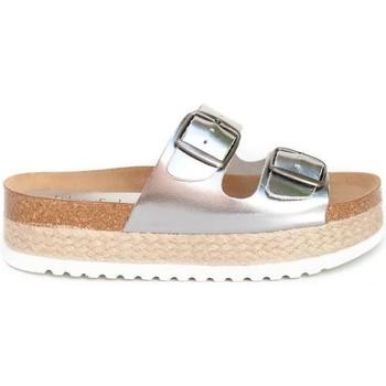 Sapatos Mulher Sandálias Colour Feet TURQUETA Prata