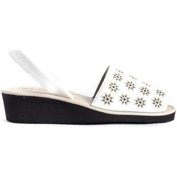 Sapatos Mulher Sandálias Colour Feet MACARELLETA LASER Branco