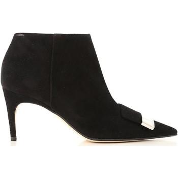 Sapatos Mulher Botins Sergio Rossi A80000 MCAZ01 1000 nero