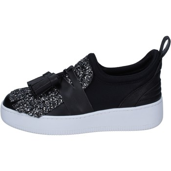 Sapatos Mulher Slip on My Grey Mer Sneakers BS626 Preto