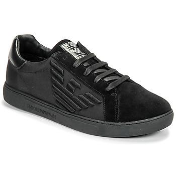 Sapatos Homem Sapatilhas Emporio Armani X4X279-XM035-A085 Preto