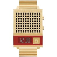 Relógios Relógios Digitais Nixon Reloj  Dork Too All Gold ouro