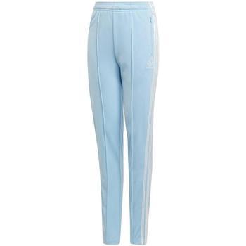 Textil Rapaz Calças de treino Adidas Kids CC HW PANTS azul