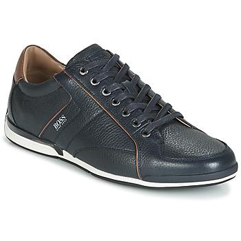 Sapatos Homem Sapatilhas BOSS SATURN LOWP TBPF1 Marinho