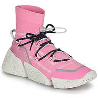 Sapatos Mulher Sapatilhas de cano-alto Kenzo K SOCK SLIP ON Rosa