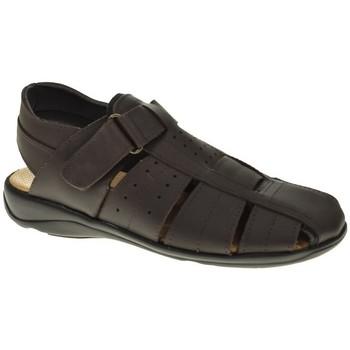 Sapatos Homem Sandálias Duendy 20 Marrón