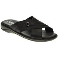 Sapatos Homem Sandálias Duendy 224 Negro