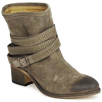 Sapatos Mulher Botins Atelier Voisin FEW DAIM Toupeira