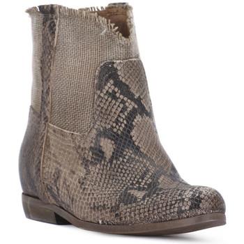 Sapatos Mulher Botins Priv Lab PITONE ROCCIA Bianco