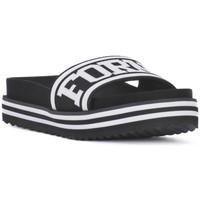 Sapatos Mulher chinelos Fornarina BEACH 2 BLACK Nero