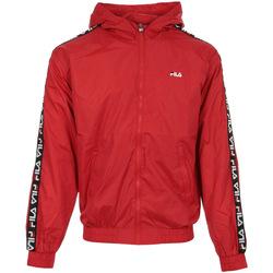 Textil Homem Casacos  Fila Tacey Tape Wind Jacket Vermelho