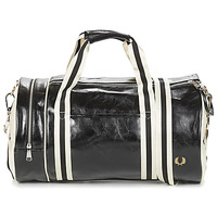 Malas Homem Saco de desporto Fred Perry CLASSIC BARREL BAG Preto