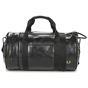 Malas Homem Saco de desporto Fred Perry TONAL BARREL BAG Preto