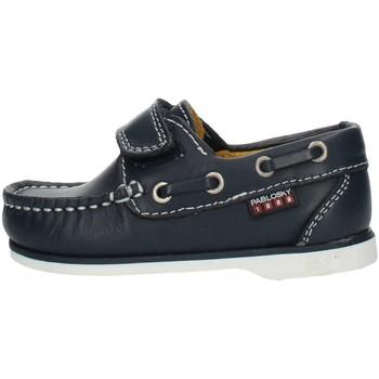 Sapatos Rapaz Sapato de vela Pablosky 121920 Azul