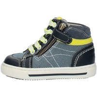 Sapatos Rapaz Sapatilhas de cano-alto Nero Giardini P823013M Azul