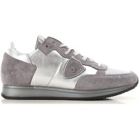 Sapatos Mulher Sapatilhas Philippe Model TRLD ME02 argento