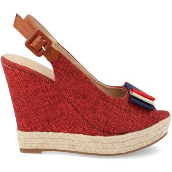 Sapatos Mulher Alpargatas Ainy D8536 Rojo