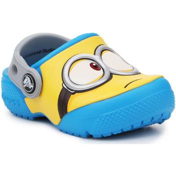 Sapatos Criança Tamancos Crocs Crocsfunlab Minions Clog 204113-456 yellow, blue