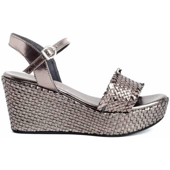 Sapatos Mulher Sandálias Zap-In CT-63 Prata