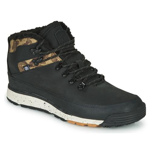 Sapatos Homem Botas baixas Element DONNELLY Preto / Camuflagem