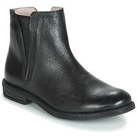 Sapatos Rapariga Botas baixas Acebo's 9671-NEGRO-T Preto