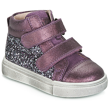 Sapatos Rapariga Sapatilhas de cano-alto Acebo's 5299AV-LILA-C Violeta