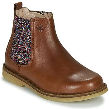 Sapatos Rapariga Botas baixas Acebo's 5274-CUERO-J Conhaque