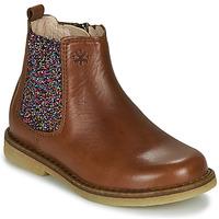 Sapatos Rapariga Botas baixas Acebo's 5274-CUERO Castanho