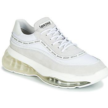 Sapatos Mulher Sapatilhas Bronx BUBBLY Branco