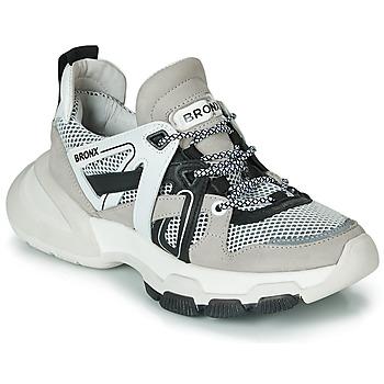 Sapatos Mulher Sapatilhas Bronx SEVENTY STREET Cinza / Branco / Preto
