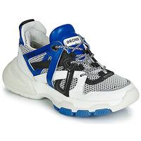 Sapatos Mulher Sapatilhas Bronx SEVENTY STREET Branco / Preto / Azul