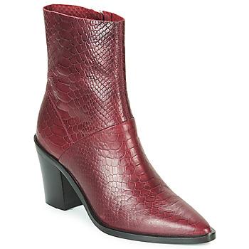 Sapatos Mulher Botins Bronx NEW AMERICANA LOW Bordô