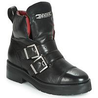 Sapatos Mulher Botas baixas Bronx GAMLETT Preto