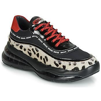 Sapatos Mulher Sapatilhas Bronx BUBBLY Preto