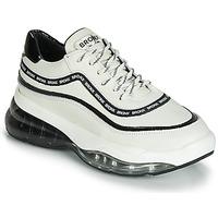 Sapatos Mulher Sapatilhas Bronx BUBBLY Branco / Preto