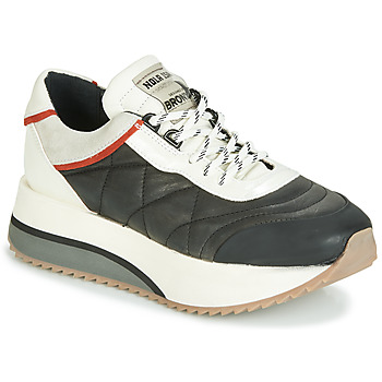 Sapatos Mulher Sapatilhas Bronx NOLA ISA Preto / Cinza