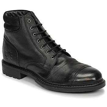 Sapatos Homem Botas baixas Base London REPTON Preto
