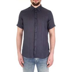 Textil Homem Camisas mangas curtas Fred Mello FM19S27CU Azul
