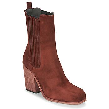 Sapatos Mulher Botins Fru.it CHELIN Maroon