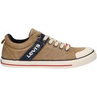 Sapatos Criança Sapatilhas Levi's VALB0022T ALABAMA Beige